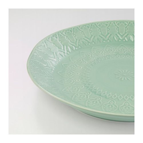 ikea sommar serving plate variations in the glaze give life and character to each plate