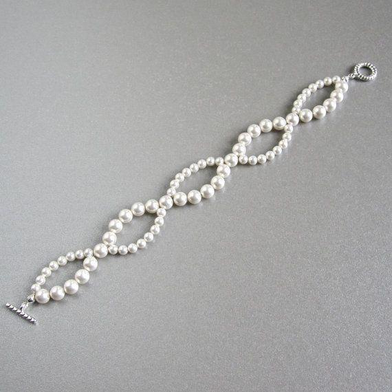 Best 25+ Pearl bracelets ideas on Pinterest | Pearl bracelet ...