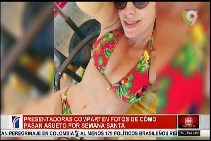 Presentadoras De Tv Dominicana Caldearon Las Redes Con Sus Cuerpos En Bikinis