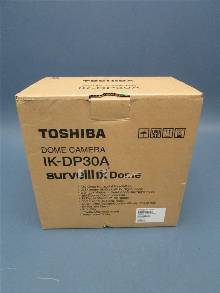 New Toshiba Dome Camera IK-DP30A Surveillix Dome