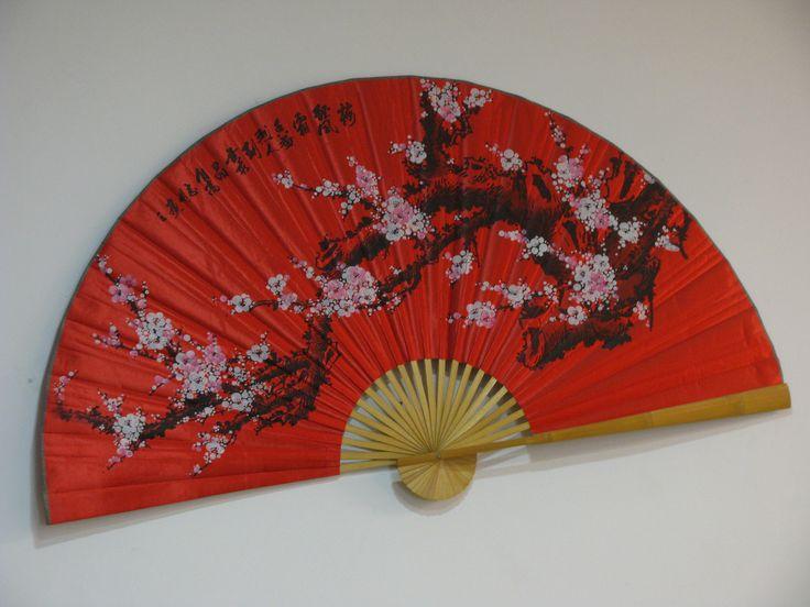 Fan   in Chinese restaurant in Berlin