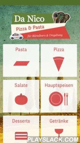 Da Nico Pizza & Lieferservice  Android App - playslack.com , Pizza in Büttelborn, Groß-Gerau und Umgebung bequem online bestellen!Da Nico ist Ihr zuverlässiger Pizza Lieferservice in Büttelborn. Wir liefern Ihnen leckere Gerichte aus der italienischen Küche nach Groß-Gerau, Klein-Gerau, Büttelborn, Nauheim, Griesheim & Wallerstätten. Catering und größere Bestellungen gerne auf Anfrage.