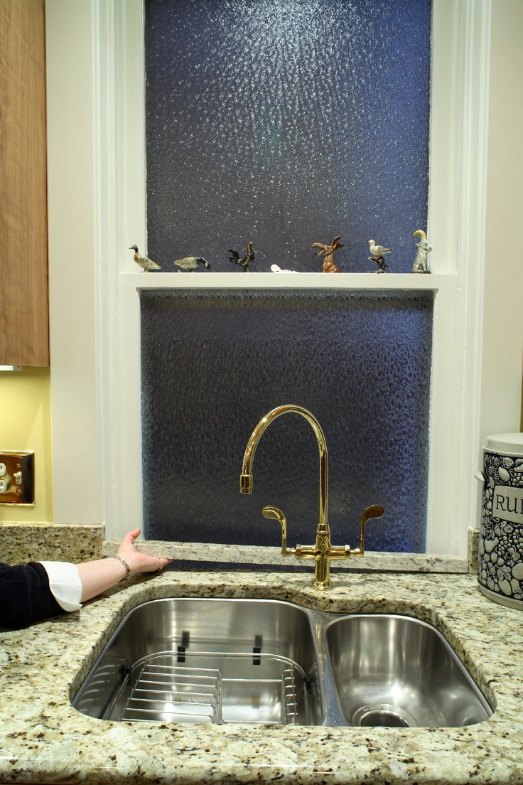 Custom Frederick, MD Kitchen Renovation. Granite Counter Top Access To  Window Behind Sink.