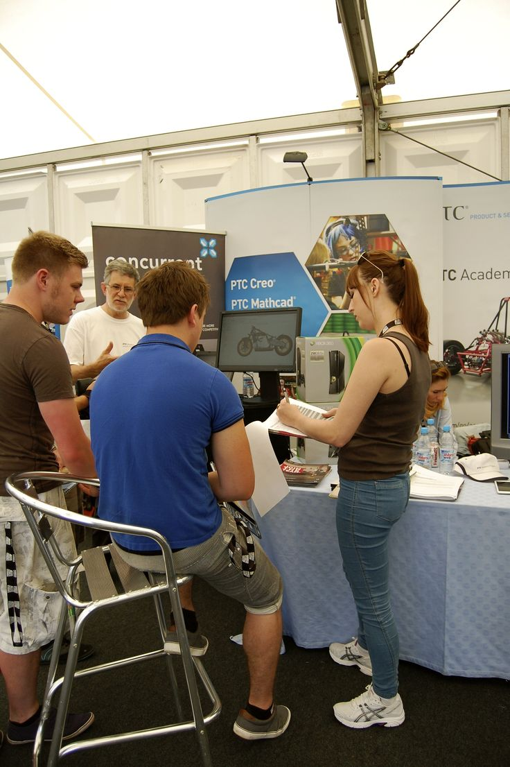 Showing students the power of Creo Parametric at Formula Student