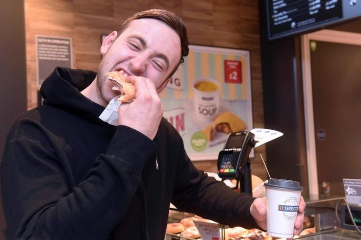 Greggs fan who calls the pastry shop his religion has spent over 2000 eating their bacon and sausage sarnies every day for three years