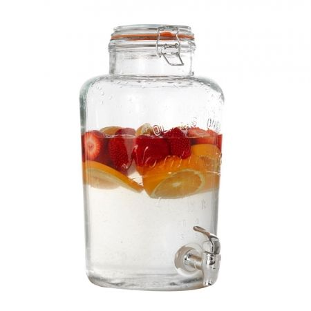 Add some old school charm to your Christmas festivities and create your own signature drink with the gorgeous Mason 3.5L Drinks Dispenser. Available from Howards Storage World.  #howardsstorage #christmaswishlist