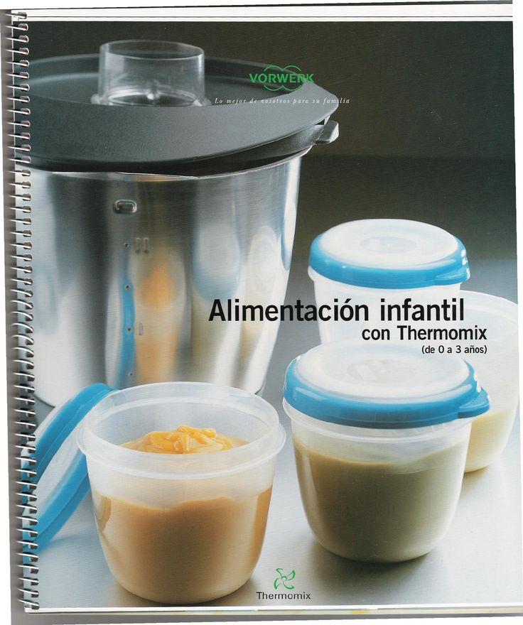 Alimentacion infantil thermomix