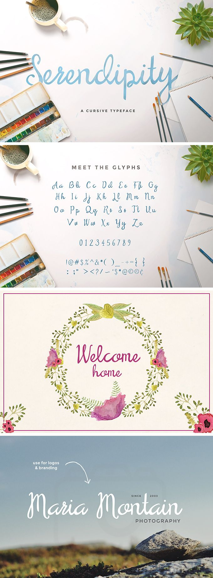 cursive fonts for wedding cards%0A Serendipity Script Free Font