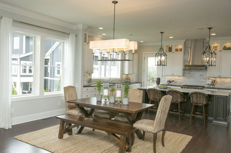 55 best parade of homes 2013 jerome village images on for Casual kitchen dining