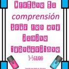 Spanish Comprehension Boxes for Use With Non-Fiction Text/Cuadros de comprensión para uso con textos informativos