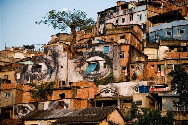 "Women Are Heroes – huge photografic art in the Favela "" Morro da Providencia"", Rio de Janiero. August 2008 (www.jr-art.net).Street Artists, Heroes, Photos Canvas, The Artists, Rio De Janeiro, Contemporary Art, Ted Talk, Eye, Streetart"