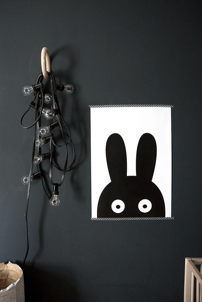 T.D.C | Dark Walls in the Bedroom: kids style