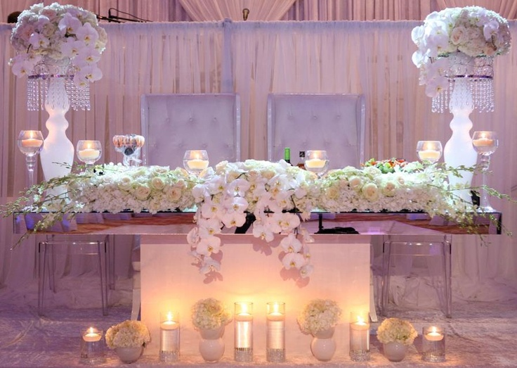 Sweetheart Table TableHead TablesWedding
