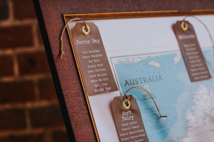 Need a table plan? Grab a map of your favourite place and make your table names correspond to your fave spots on the map. Photo by Benjamin Stuart Photography #weddingphotography #tableplan #weddingideas #maptableplan #australiaideas #receptiondecor #weddingday