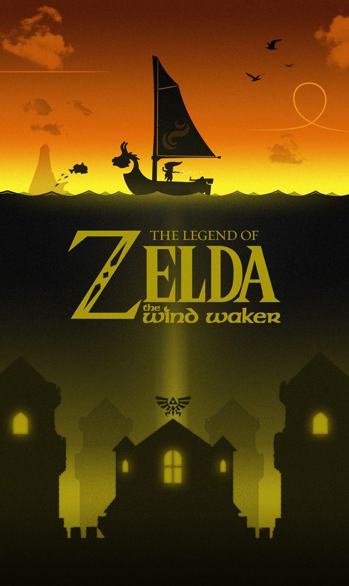 Legend Of Zelda Wind Waker Poster 25+ bästa id&#233...
