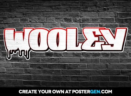 Make Your Own Graffiti Spray Paint Font