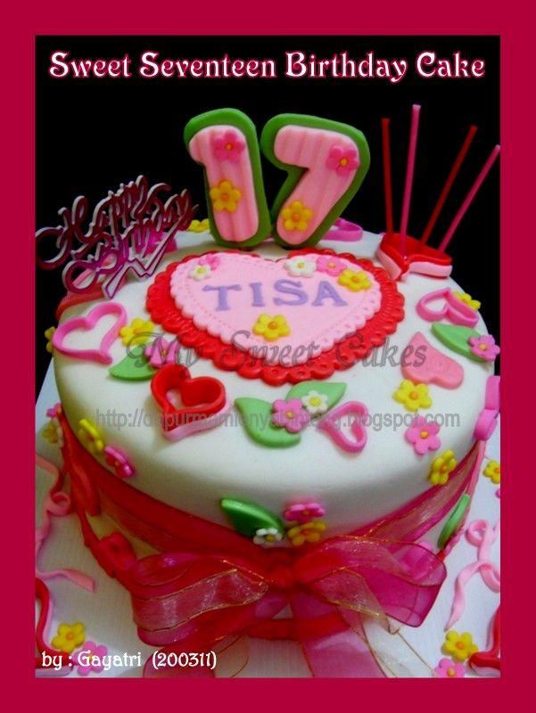 Tissa birthday cake