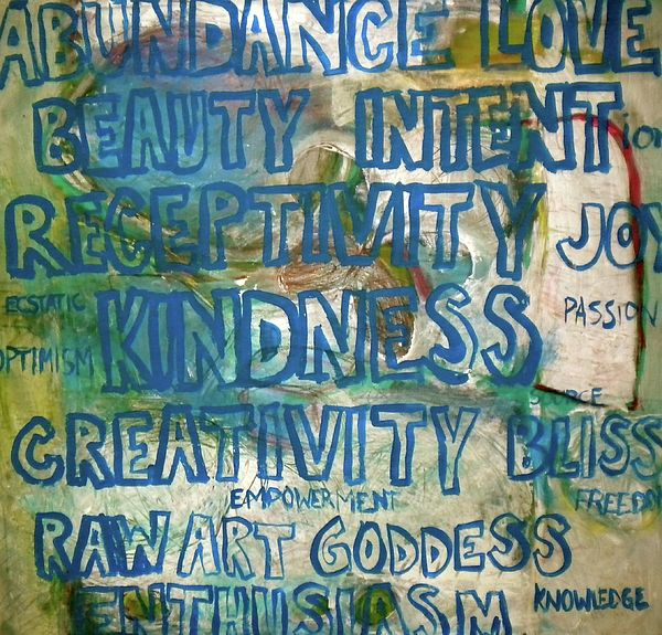 Abundance painting by Simran Sofia Love