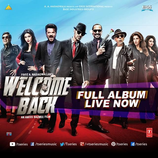 The crazy lot is back yet again but with double dose of fun and double dose of awesome music!! **WELCOME BACK** Full Audio Album --> http://bit.ly/WelcomeBackAudioFB  #TseriesMusic #WelcomeBack #FullAudioAlbum #Johnabraham #AnilKapoor #NanaPatekar
