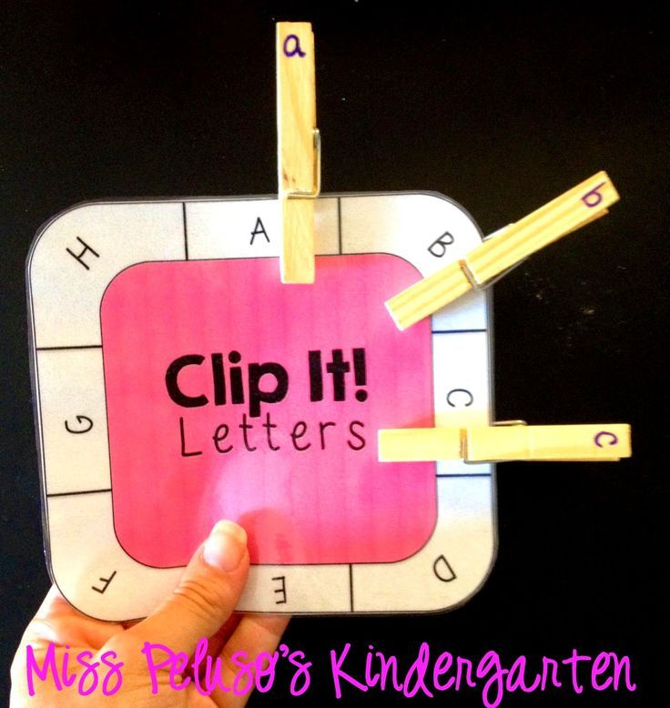 Low prep lowercase and uppercase letter identification activity. Great for strengthening fine motor skills as well! Also check out this post to find a cute Back to School read aloud!