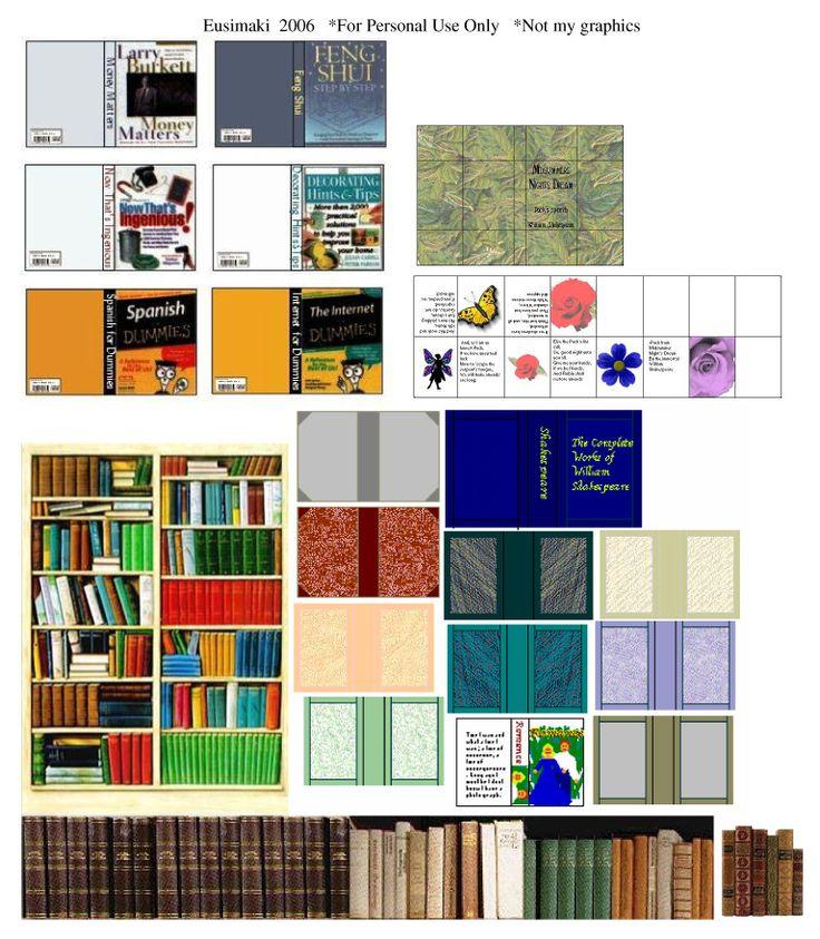 Printable Dollhouse Size Magazine 1960 Era: 332 Best Miniature Printables Images On Pinterest