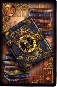 Gilded Reverie Lenormand by Ciro Marchetti Self-published by Ciro Marchetti, 2012
