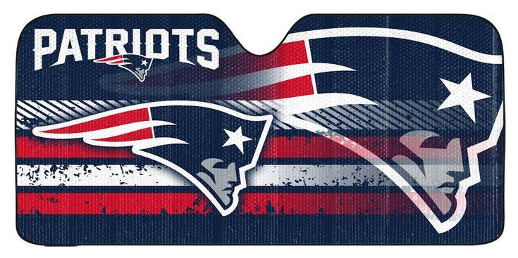 "New England Patriots Auto Sun Shade - 59""x27"""