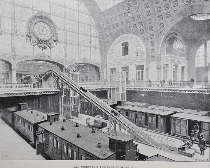 Gare D'Orsay Paris 1900                                                                                                                                                                                 Plus