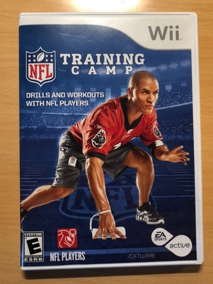 NFL Training Camp Wii Game in 2020 Training camp