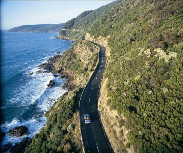 Great Ocean Road (Australia, Torquay to Warrnambool)