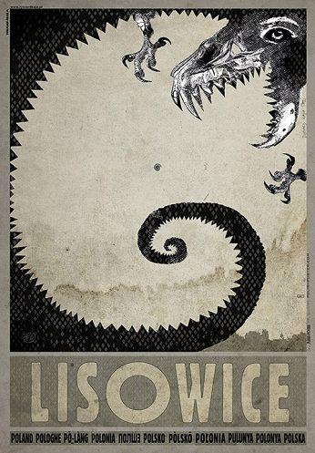 Lisowice - polskie dinozauryZobacz też inne plakaty z serii PLAKAT-POLSKA Oryginalny polski plakatautor plakatu: Ryszard Kaja data druku: 2016 wymiary plakatu: B1, 68x98cm
