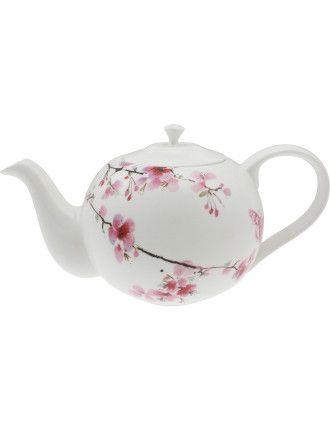 Water Blossom Teapot | David Jones