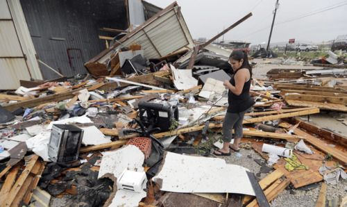Hurricane Harvey lashes TexasThe U.S. National Hurricane Center...  Hurricane Harvey lashes Texas  The U.S. National Hurricane Center said on Saturday afternoon that Hurricane Harvey had weakened to tropical storm strength with maximum sustained winds of 70 miles per hour over central Texas.  Harvey roared ashore overnight as a category 4 hurricane with winds over 130 mph just north of Corpus Christi Texas. The storm is expected to cause catastrophic flooding as it lingers along the Texas…