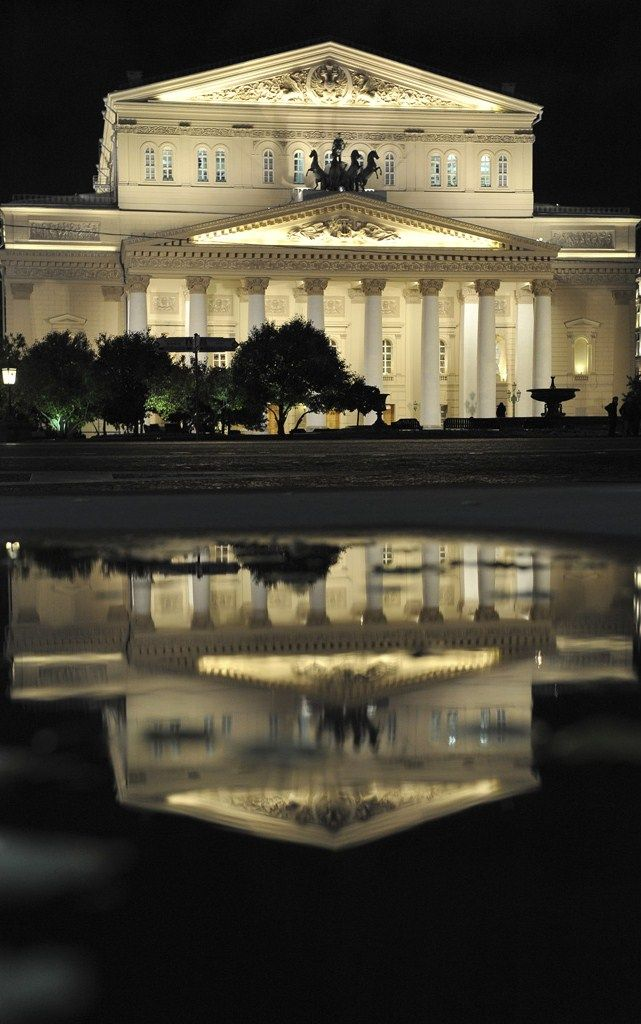 Bolshoi Theatre in Moscow. #Russia