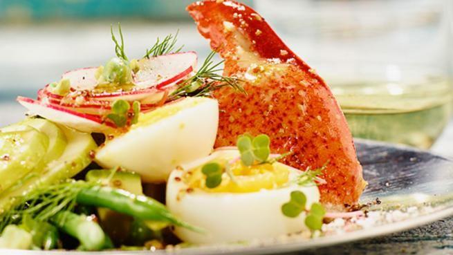 Salade de homard mimosa | Signé M | Émission TVA