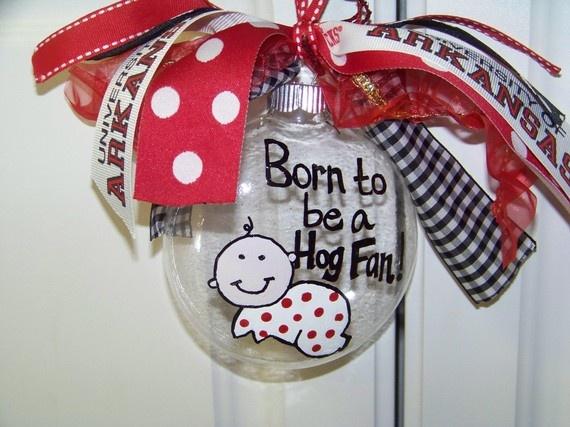 Razorback baby gift #Razorbacks