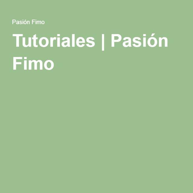 Tutoriales | Pasión Fimo
