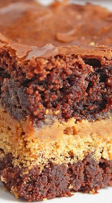 Peanut Butter Graham Cracker Brownies