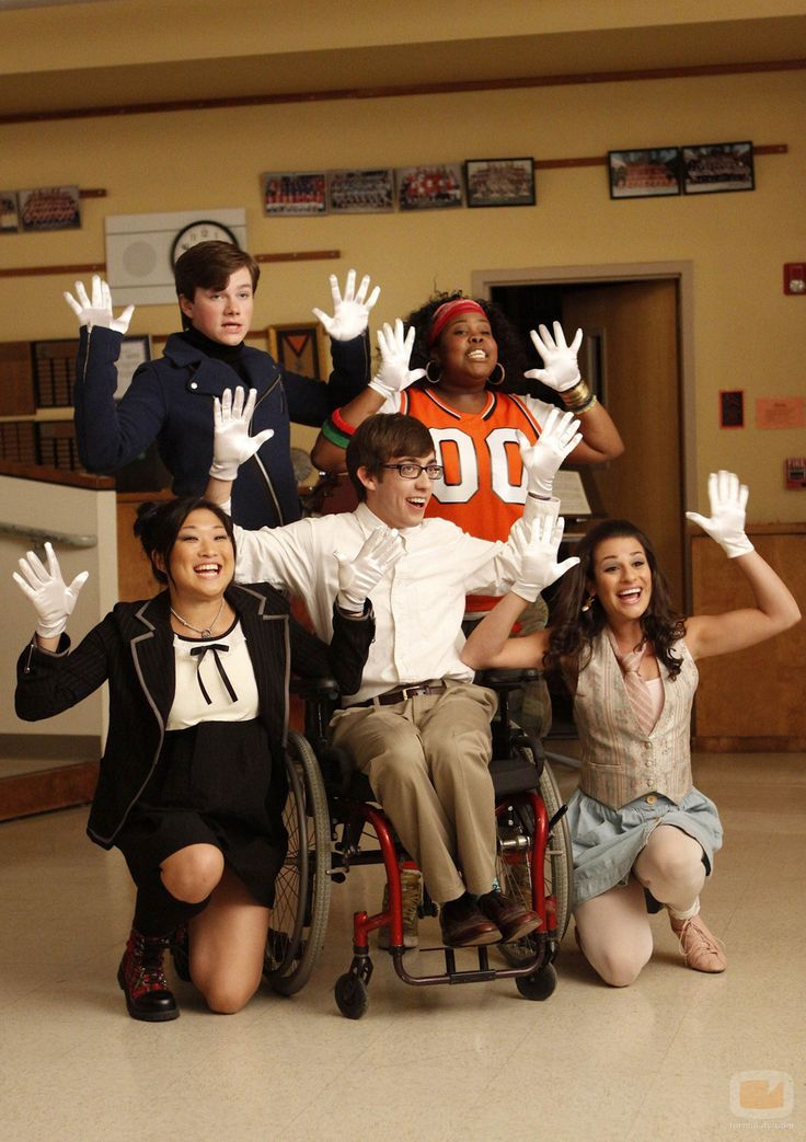 Glee Season 1  Sit down you're rockin' the boat ;)