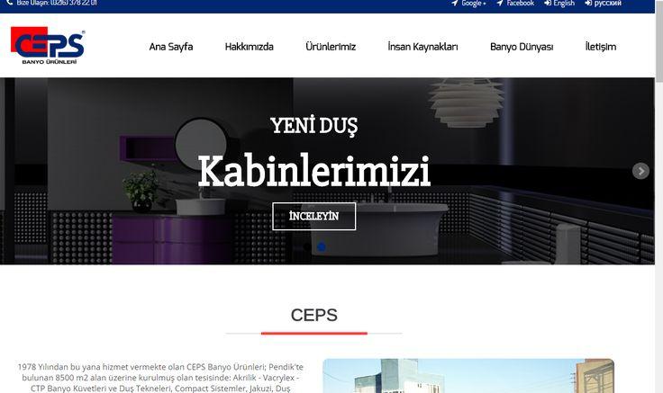 www.ceps.com.tr Küvet , Duşakabin , Duş teknesi