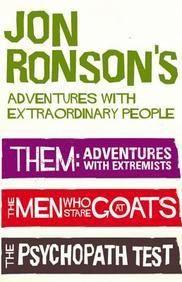 Jon Ronson Adventures Bundle  Paper Back