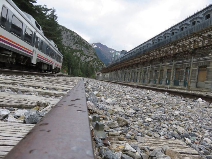 Canfranc Railway Station - Camino Aragonés
