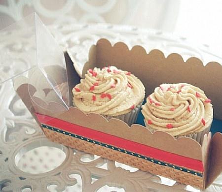 Decorative Cupcake Boxes Alluring 71 Best Cupcake Boxes Images On Pinterest  Cupcake Boxes Carton Design Inspiration