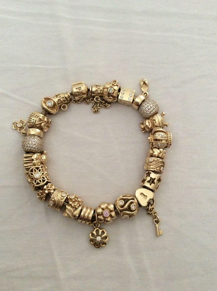 Pandora schmuck gold