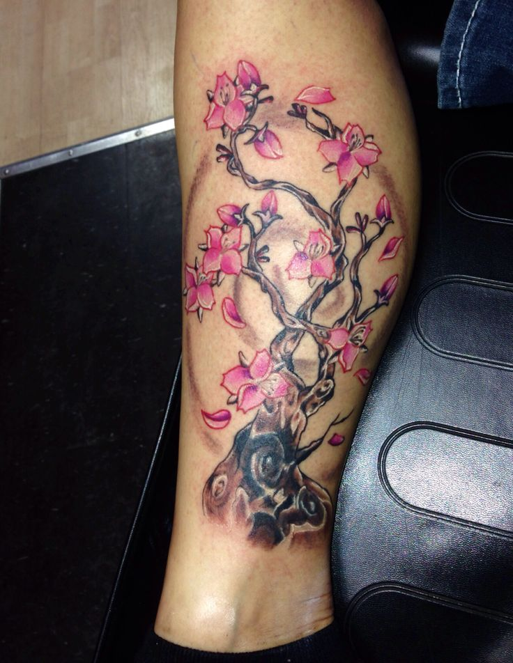 My Cherry Blossom Cover Up Tattoo Tattoos Pinterest
