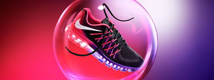 "Nike Air Max 2015 Super sleek with ""[m]aximum cushioning for an unstoppable run."""