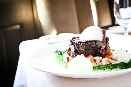 Chef Marc Collins' Bison Short Rib at Circa 1886 in Charleston, SC