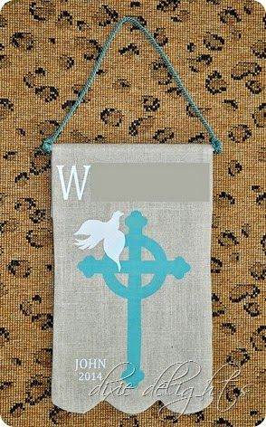 Mother Makes: First Communion Banner