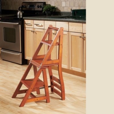 Franklin Chair / Step Stool - Folding Step Stool & Best 25+ Folding wooden stool ideas on Pinterest islam-shia.org
