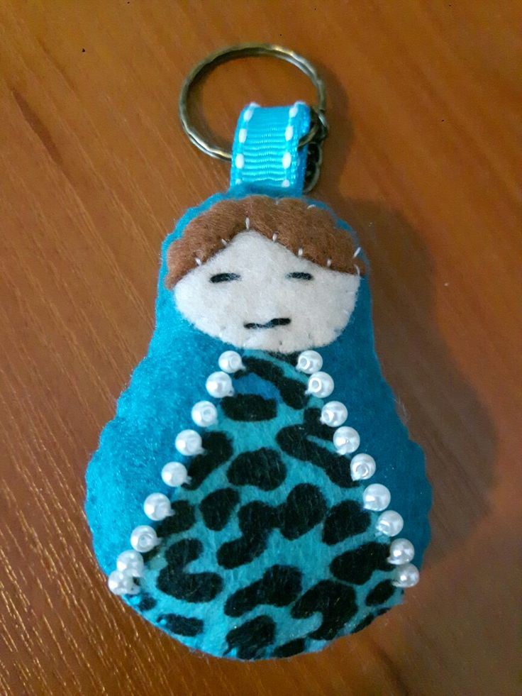 Matrioska keyring